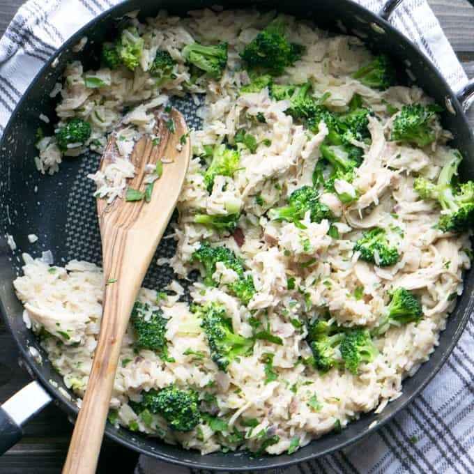 Receita de arroz com Brócolis Gostoso e Saudável