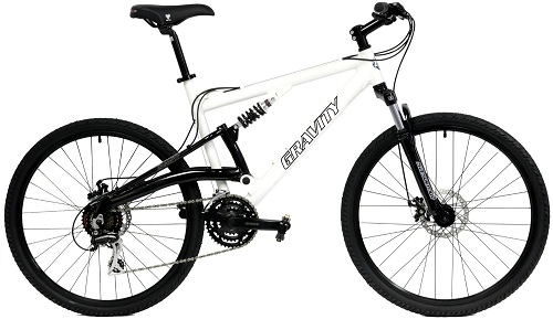 2016 Gravity FSX 1.0 Dual Full Suspension Mountain Bike Review