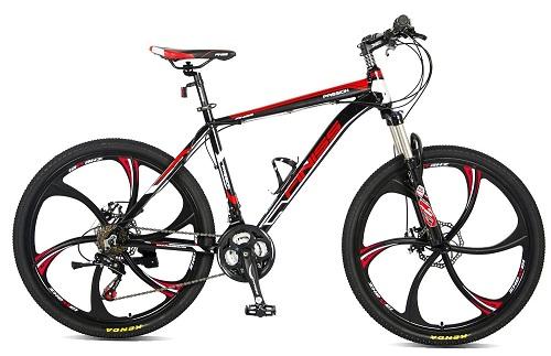 MeraxFiniss 26″ Aluminum 21 Speed Mg Alloy Wheel Mountain Bike