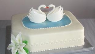 Slikovni rezultat za torta labudovo jezero torte