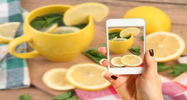 Horký citrónový čaj na hubnutí