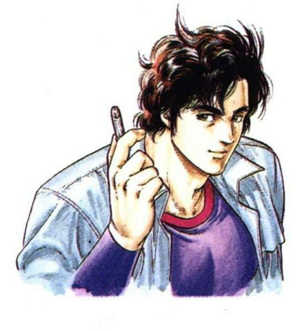 Ryo Saeba de City Hunter (Tsukasa Hojo, 1985)