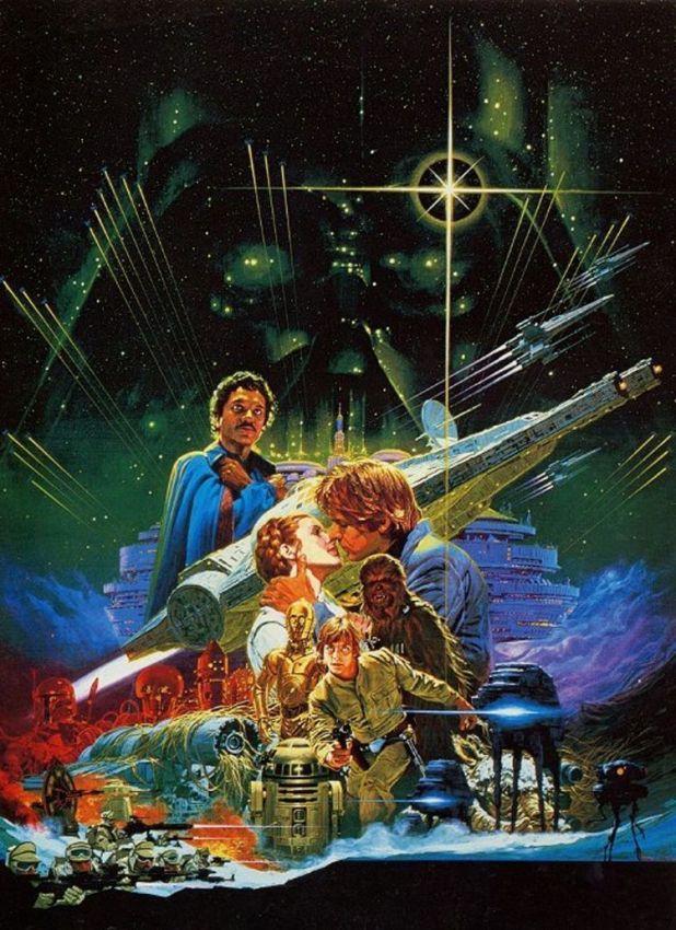 El cartel de Star Wars por Ohrai Noriyoshi.