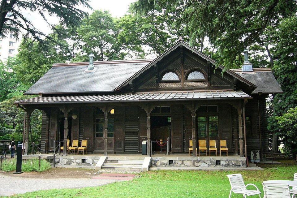 La mansión de Iwasaki (los billares ).