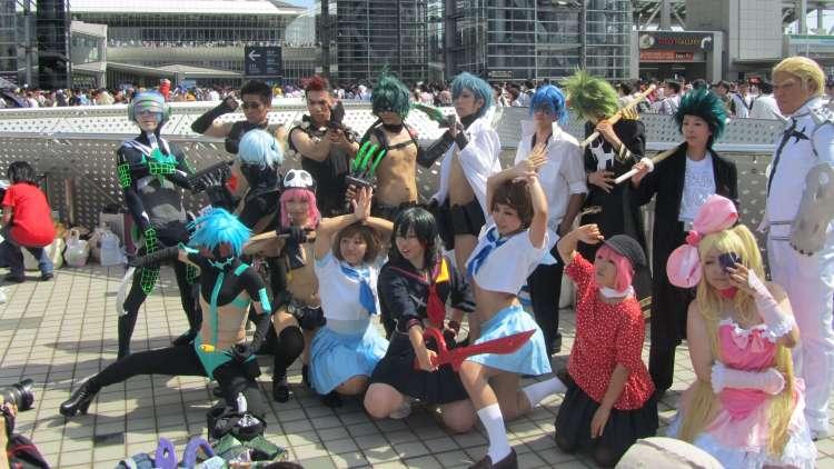 La variedad y el nivel de los cosplays son uno de los grandes atractivos de la feria.