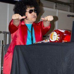 Nabeshin en su encuentro con los fans en el Salón del Manga de Get
