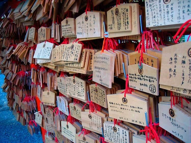 Año nuevo japonés - Ema