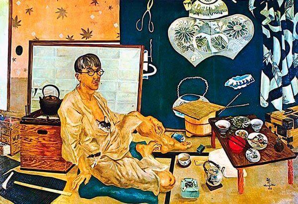 Léonard Foujita - Autorretrato (1936)