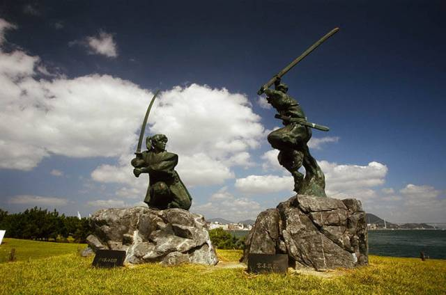 Kojiro Sasaki contra Musashi miyamoto