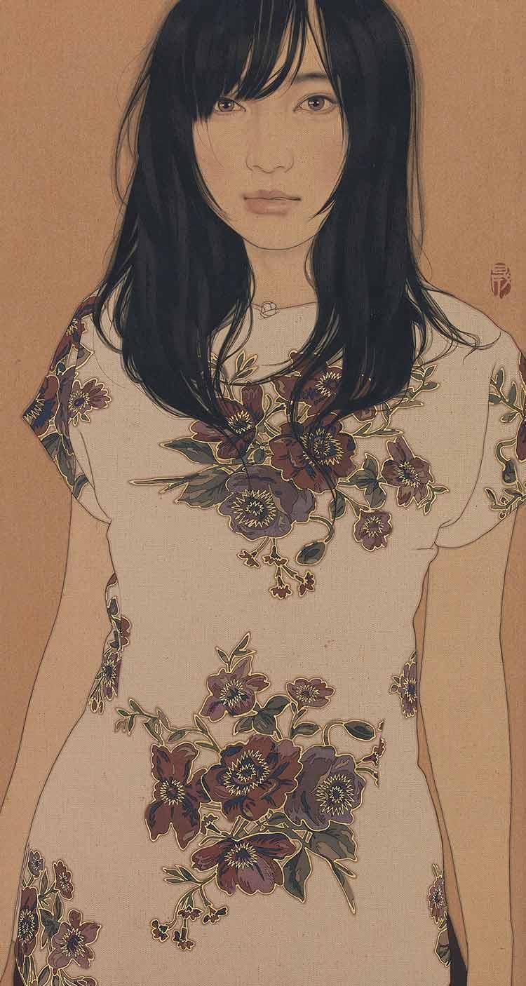 「睨める・穂波」 ©IKENAGA YASUNARI