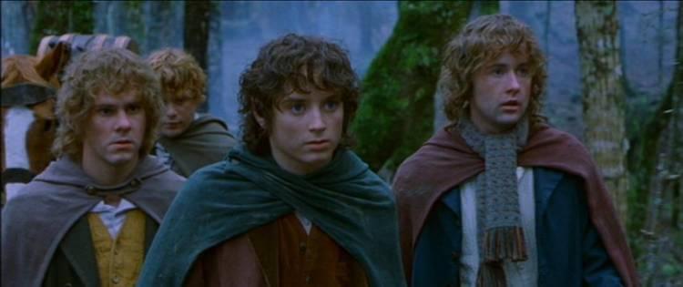 La Naturaleza en J.R.R. Tolkien y Hayao Miyazaki Frodo-hobbits-4817851-850-357