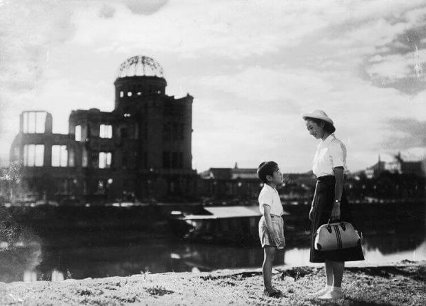 Fragmento de «Genbaku no ko» / «lLos niños de Hiroshima», de Kaneto Shindō
