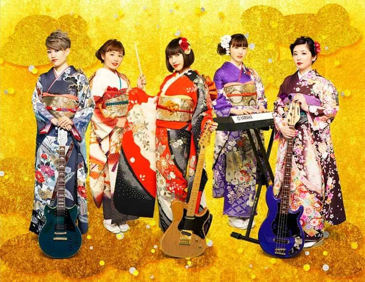 Tancobuchin en kimono