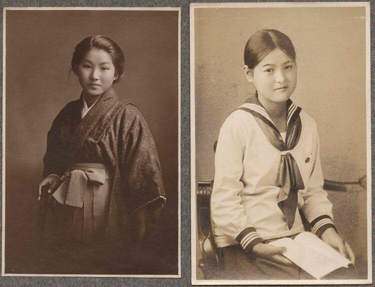 Estudiantes de la Taishō.