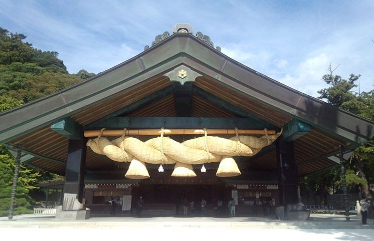 Izumo Taisha, el Santuario de Izumo.
