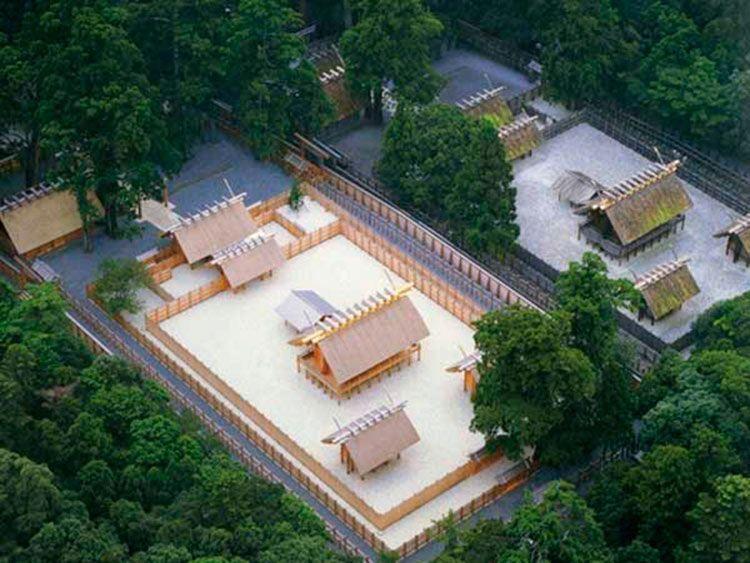 Ise Jingū, el Santuario de Ise.