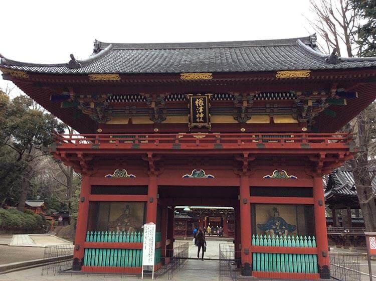 El santuario Nezu