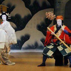 obra de kabuki de bando