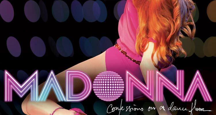 "Portada del disco ""Confessions On A Dance Floor"""
