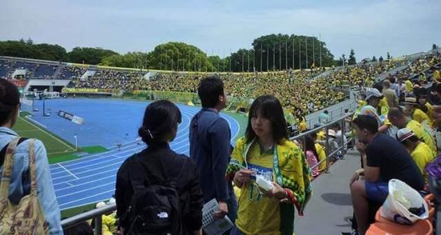 Ambiente del futbol en Japón