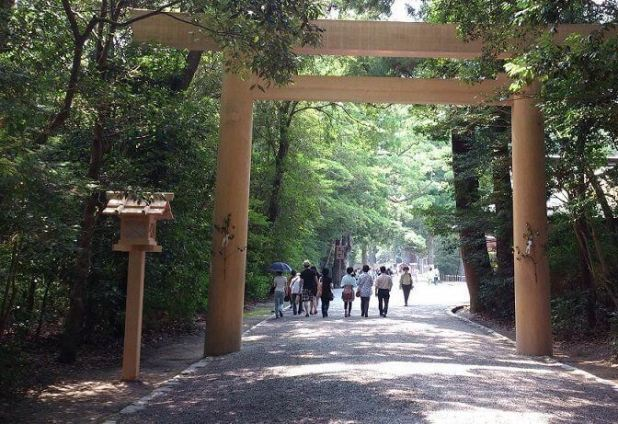 Santuario de Ise (Japón)