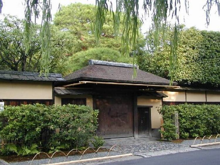 Casa principal de Urasenke en Kioto: Konnichi'an.