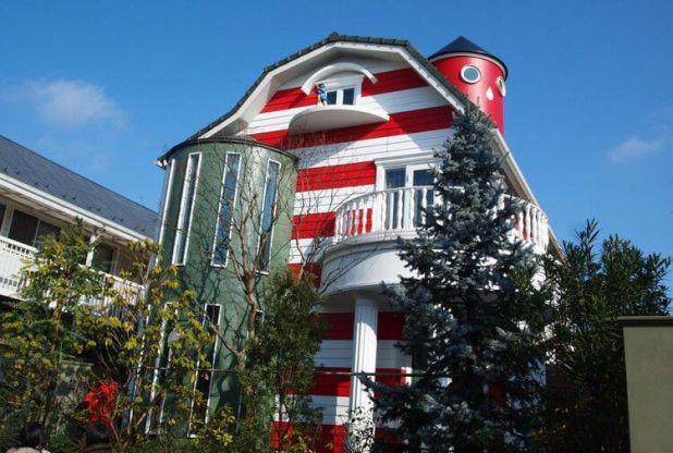 Fotografía de la casa del maestro en Kichijoji.
