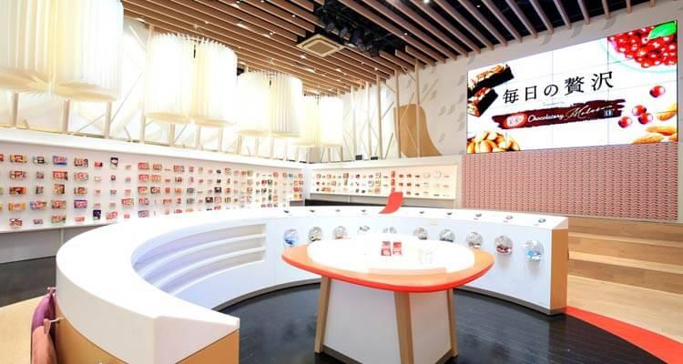 Vista de la exhibición de Kit-Kat