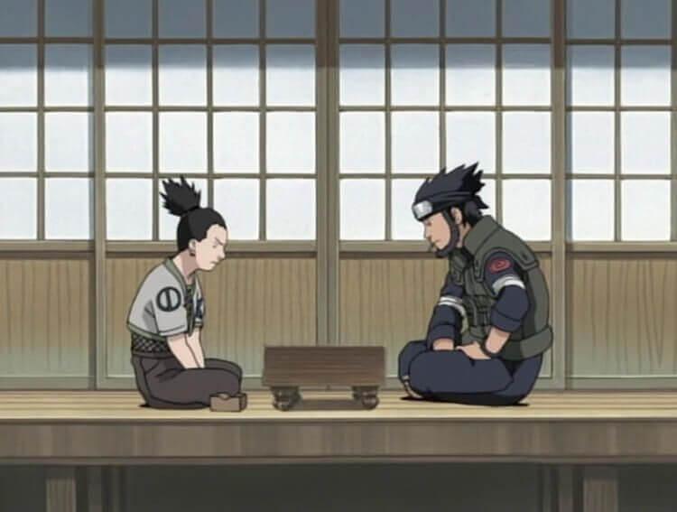 shōgi en el anime naruto