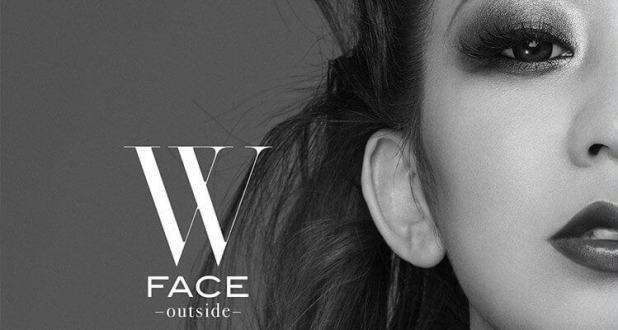 Portada del álbum «W FACE ~outside~» de Koda Kumi