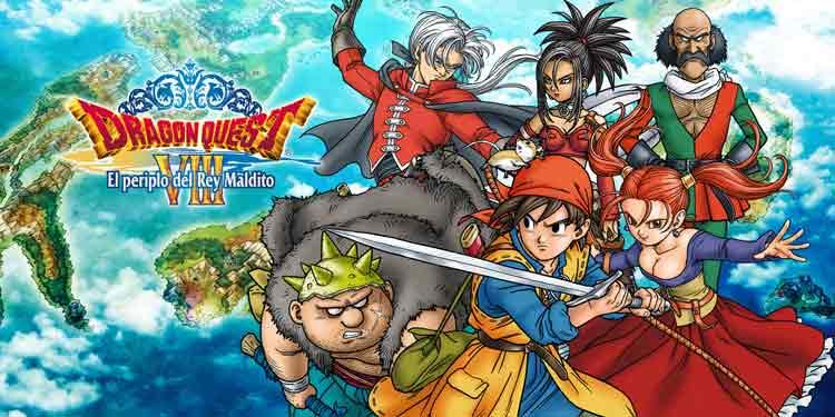 Arte oficial de Dragon Quest VIII - El periplo del rey maldito