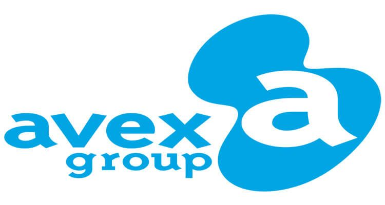 Avex, logotipo de la compañía