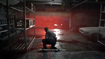 Ethan intentará obtener la ayuda de un agente de policía, entre otros personajes.
