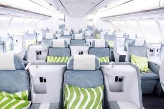 Finnair business A330 overview