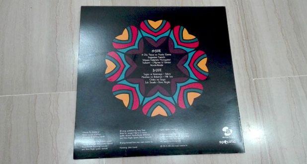 Vista trasera del álbum