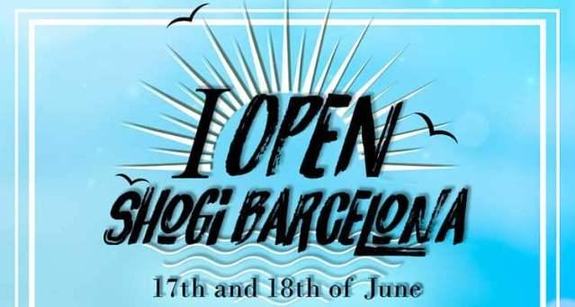 I Open Shogi Barcelona