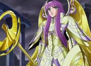 La armadura sagrada de Atenea
