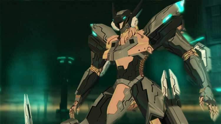 Imagen del videojuego Zone of the Enders: The 2nd Runner, en su versión HD, de 2012.