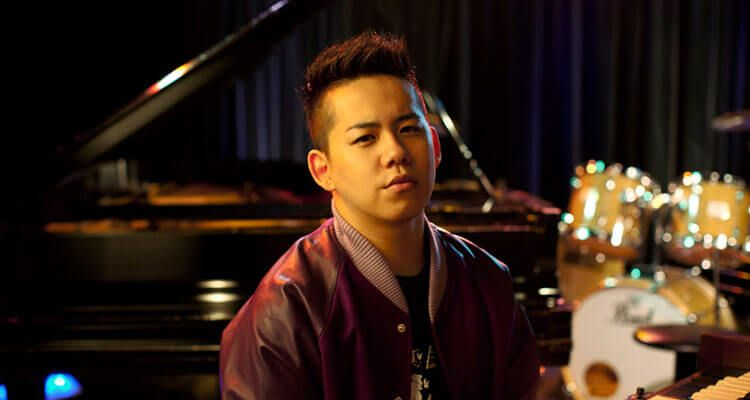 Shota Shimizu promocionando su álbum «Naturally»