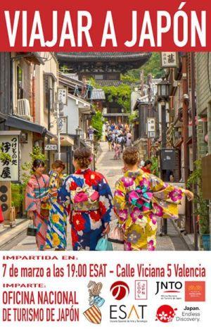 conferencia viajar a japón