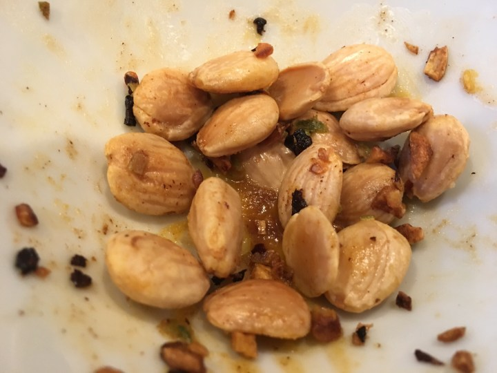 Chili Garlic Marcona Almonds