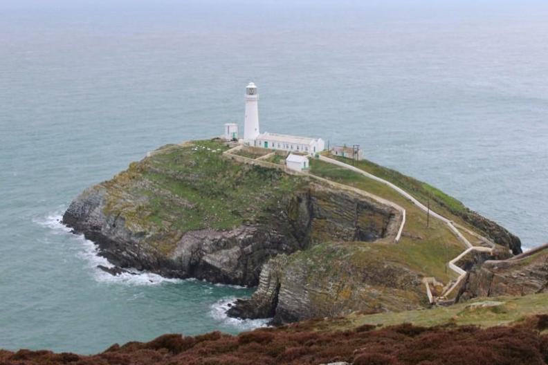 Lighthouse in Wales