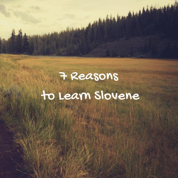 7 Reasons to LearnSlovene (2)