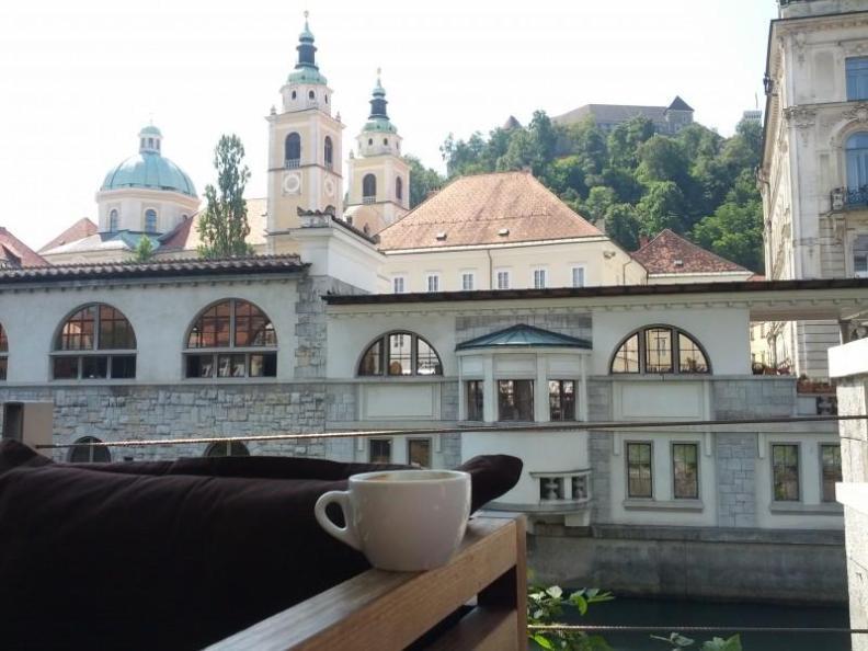 Coffee in Ljubljana