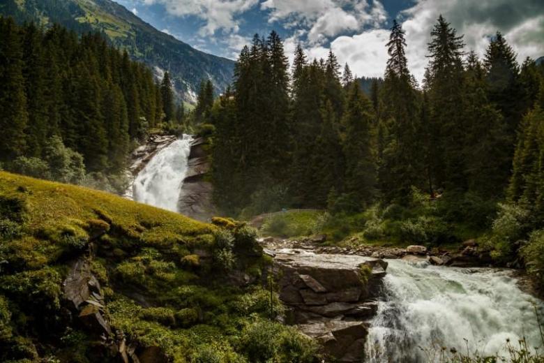 Krimml Waterfall