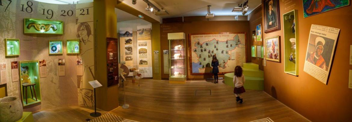 Slovenian Ethnographic Museum with kids
