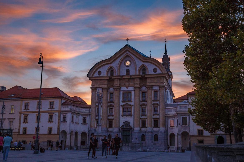 Churches in Ljubljana