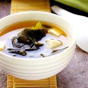 瘦小腹就喝海帶芽湯