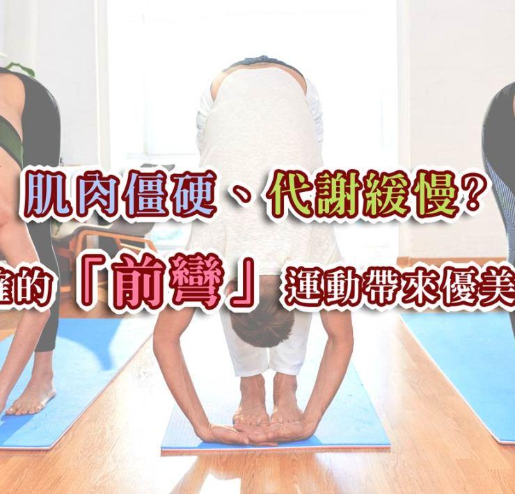 肌肉僵硬、代謝緩慢? 正確的「前彎」運動帶來優美體態