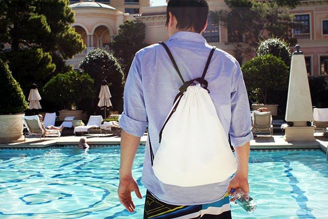 Mochibag Better Drawstring Backpack Cool Material